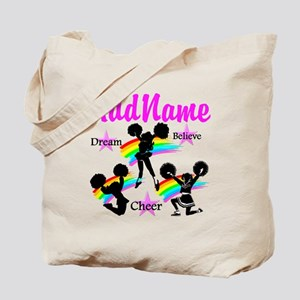 CHEERING GIRL Tote Bag