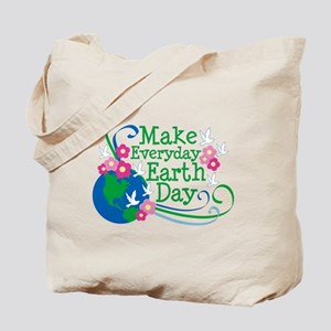 Make Everyday Earth Day Tote Bag