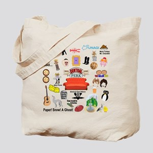 friendstv Collage Tote Bag