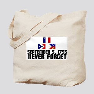 Never Forget w Flags Tote Bag