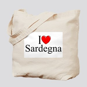 """I Love (Heart) Sardegna"" Tote Bag"