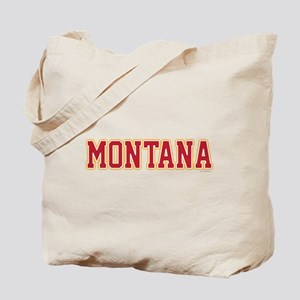 Montana Jersey Red Tote Bag