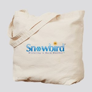 Snowbird - Wintering in Warm Weather Tote Bag