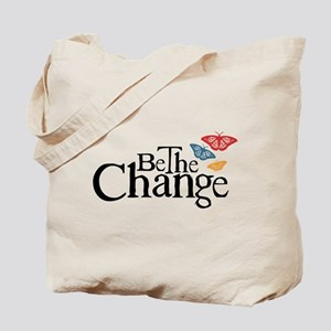 Be the Change - Earth - Red Vine Tote Bag
