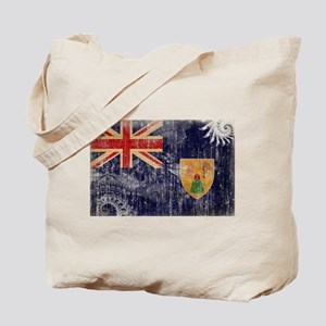 Turks and Caicos Flag Tote Bag