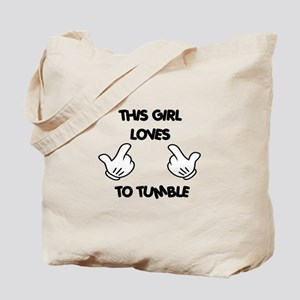 This Girls Loves to Tumble Tote Bag