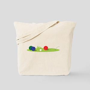 Bocce Ball Game Tote Bag