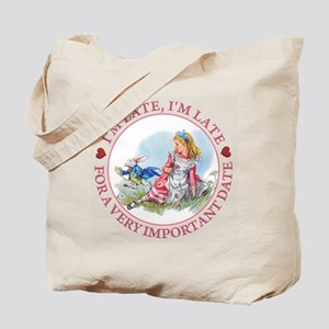 I'm Late , I'm Late, For a Very Important Tote Bag
