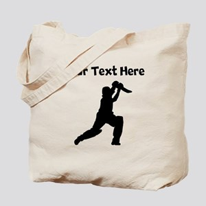 Cricket Player Tote Bag
