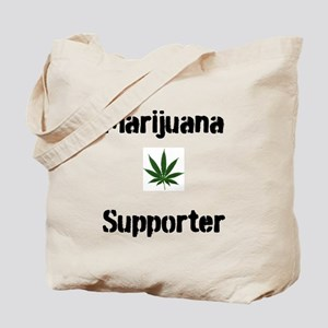 Marijuana Supporter Tote Bag