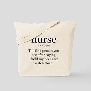 nurse definition Tote Bag