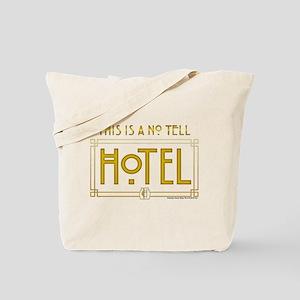 AHS Hotel No Tell Hotel Tote Bag