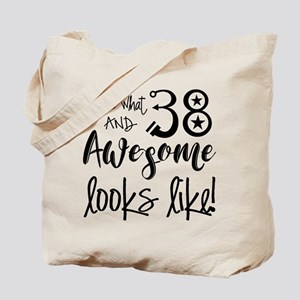 Awesome 38 Years Old Tote Bag