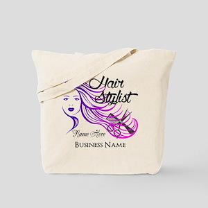 Hair Stylist Custom Tote Bag