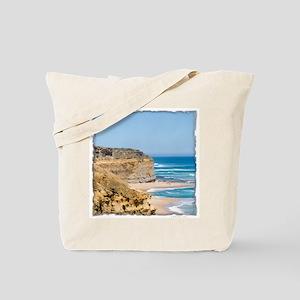 Australia Coastline Tote Bag
