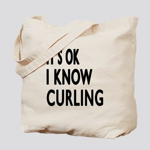 It Is Ok I Know Curling Tote Bag
