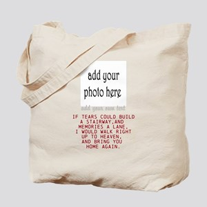 In memory of Personalize Tote Bag