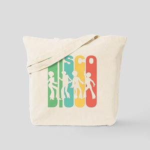 Retro Disco Tote Bag