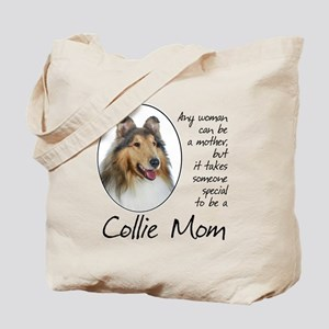 Collie Mom Tote Bag