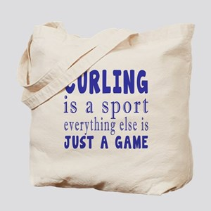 Curling is a sport Tote Bag