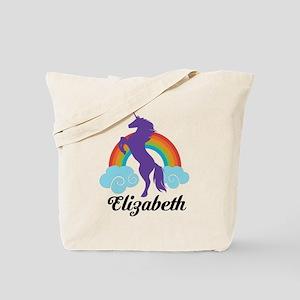 Personalized Unicorn Gift Tote Bag