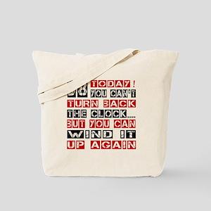 38 Turn Back Birthday Designs Tote Bag