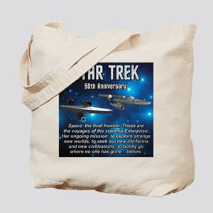 50TH FINAL FRONTIER Tote Bag