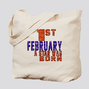 1 February A Star Was Born Tote Bag