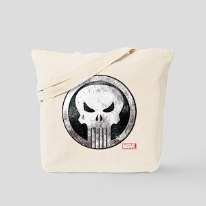 Punisher Grunge Icon Tote Bag
