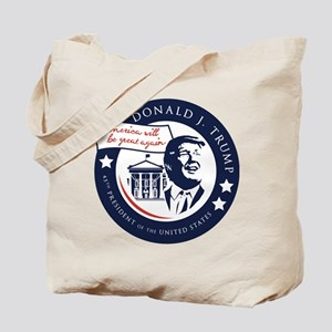 Trump 45th President Tote Bag