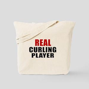 Real Curling Tote Bag