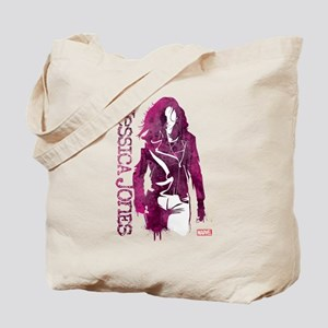 Jessica Jones Silhouette Tote Bag