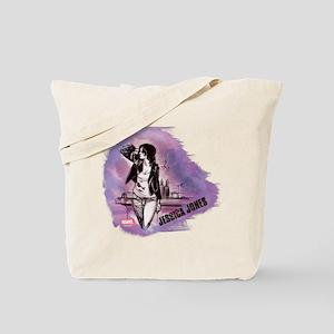 Jessica Jones Purple Sky Tote Bag