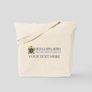 Delta Kappa Alpha Logo Personalized Tote Bag