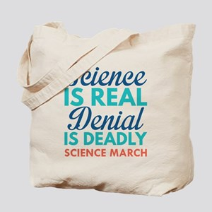 Science Is Real Tote Bag