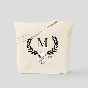 Snoopy Monogram Tote Bag