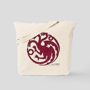 Game of Thrones House Targaryen Tote Bag