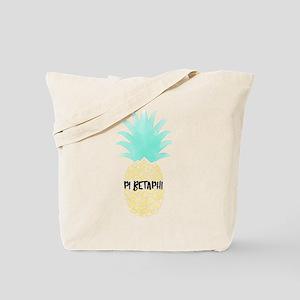 Pi Beta Phi Pineapple Tote Bag