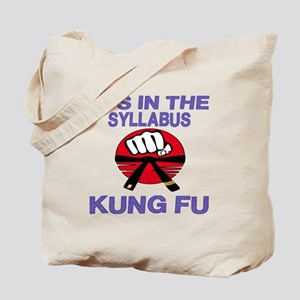 It's in the Syllabus Kung Fu Tote Bag