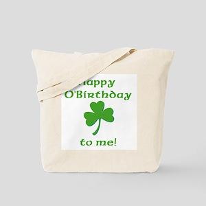 Happy O'Birthday!! Tote Bag