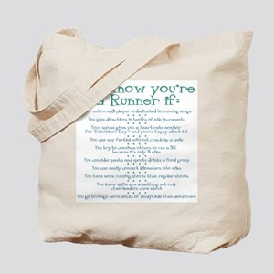 You Know You're a Runner If Tote Bag