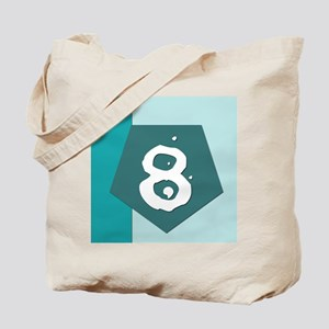 Number Eight Tote Bag