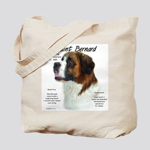 Saint Bernard (Rough) Tote Bag