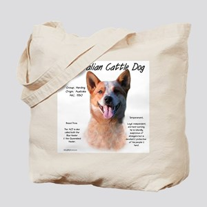Cattle Dog (red) Tote Bag
