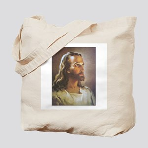Portrait of Jesus Tote Bag