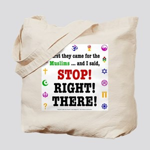 First They Came... Tote Bag