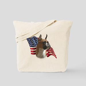 Boxer Flag Tote Bag