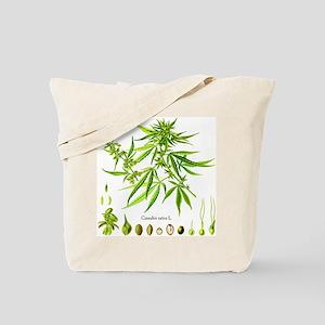 Cannabis Sativa L. Tote Bag