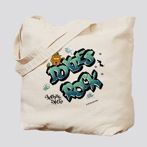 Doxies Rock Graffiti Tote Bag
