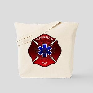 FIREFIGHTER-EMT Tote Bag